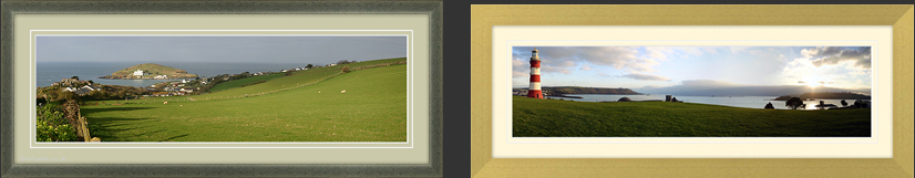 Devon Cornwall Dorset Somerset Pictures | 23mm Dark Green Frame | 35mm Ayous Frame