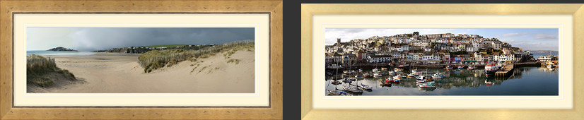 Devon Cornwall Dorset Somerset Pictures | 36mm Medium Oak Frame | 28mm Obeche Frame