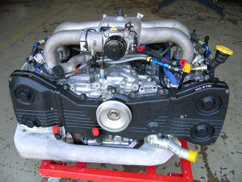 WRC S8 Engine - shot 2