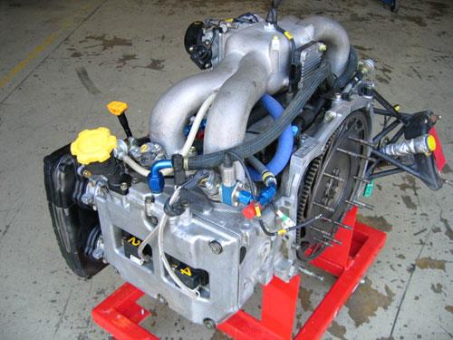 WRC S8 Engine - shot 3