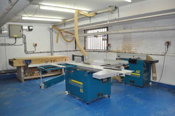 Woodwork workshop hire london