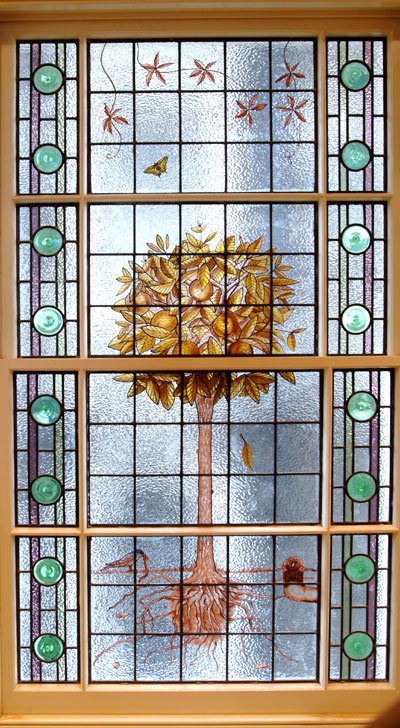 Custom Stained Glass Window Design