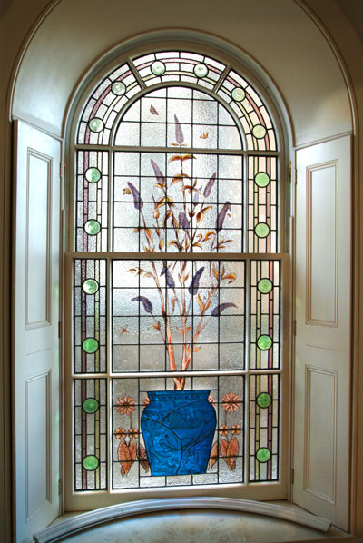 Architectural art glass reproduction service for Architectural window designs