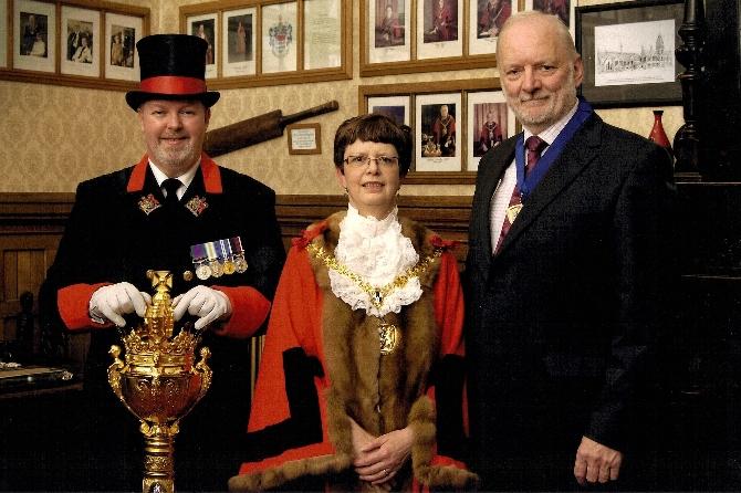 Macebearer for East Staffordshire