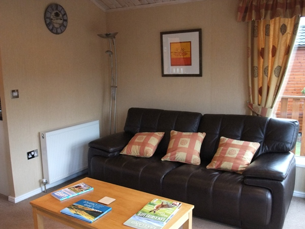Lounge Area - Troutbeck Cabin