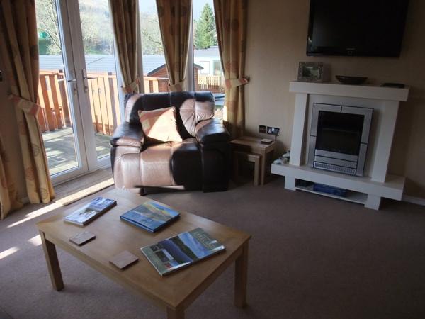 Lounge - Armchair - Fellside Lodge - Limefitt Park - Troutbeck