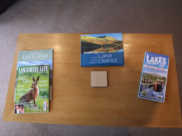 Magazines - Fellside Lodge - Limefitt Park - Troutbeck