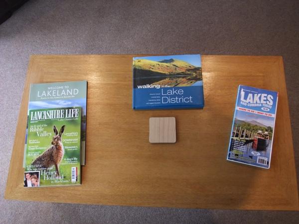 Magazines - Fellside Lodge - Limefitt Park - Troutbeck