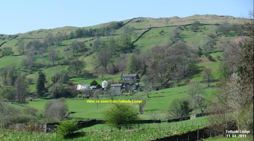 View to Troutbeck Valley - Lake District