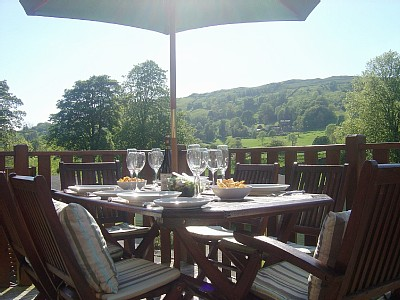 View to Troutbeck Valley from Fellside Lodge