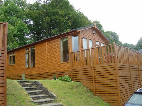 The left hand side of the lodge - Fellside Lodge - Limefitt Park - Troutbeck