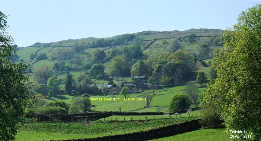 View to Troutbeck Valley - Lake District - Spring 2011