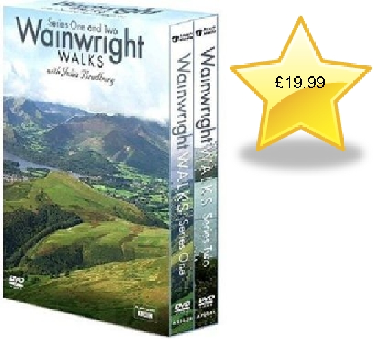 Wainwrights Walks - Complete BBC Series 1 & 2 Box Set DVD
