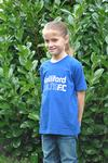 Kids Club T in Royal Blue