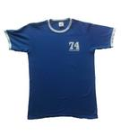 Retro Tee in Royal Blue