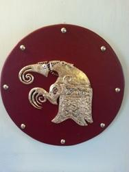 Rædwald's Shield. Wall decoration