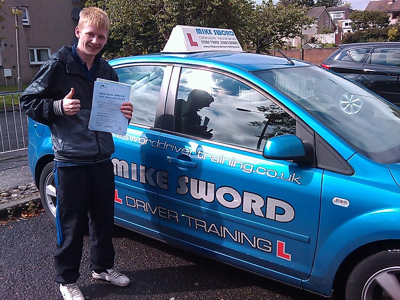 Alan Scobbie Mike Sword Driver Training