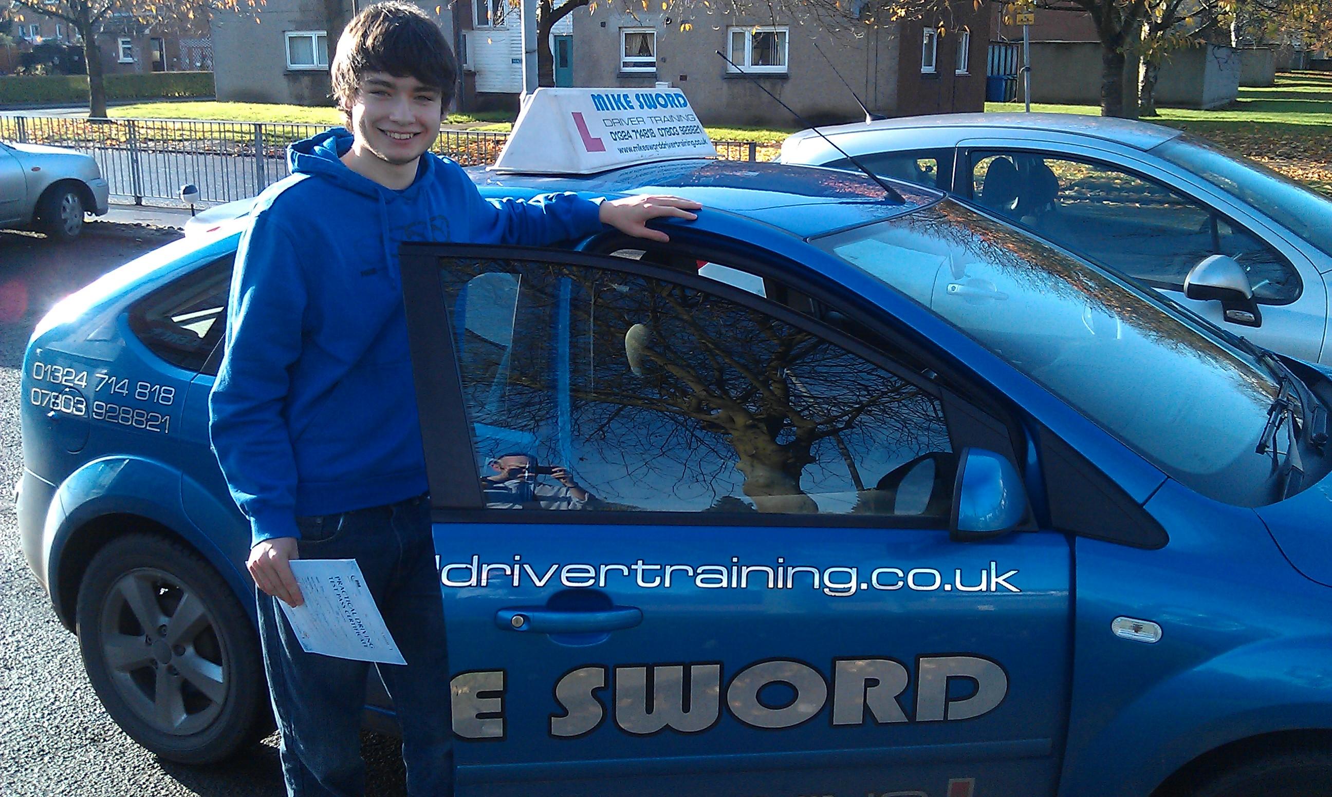 Christopher Lenathen Mike Sword Driver Training