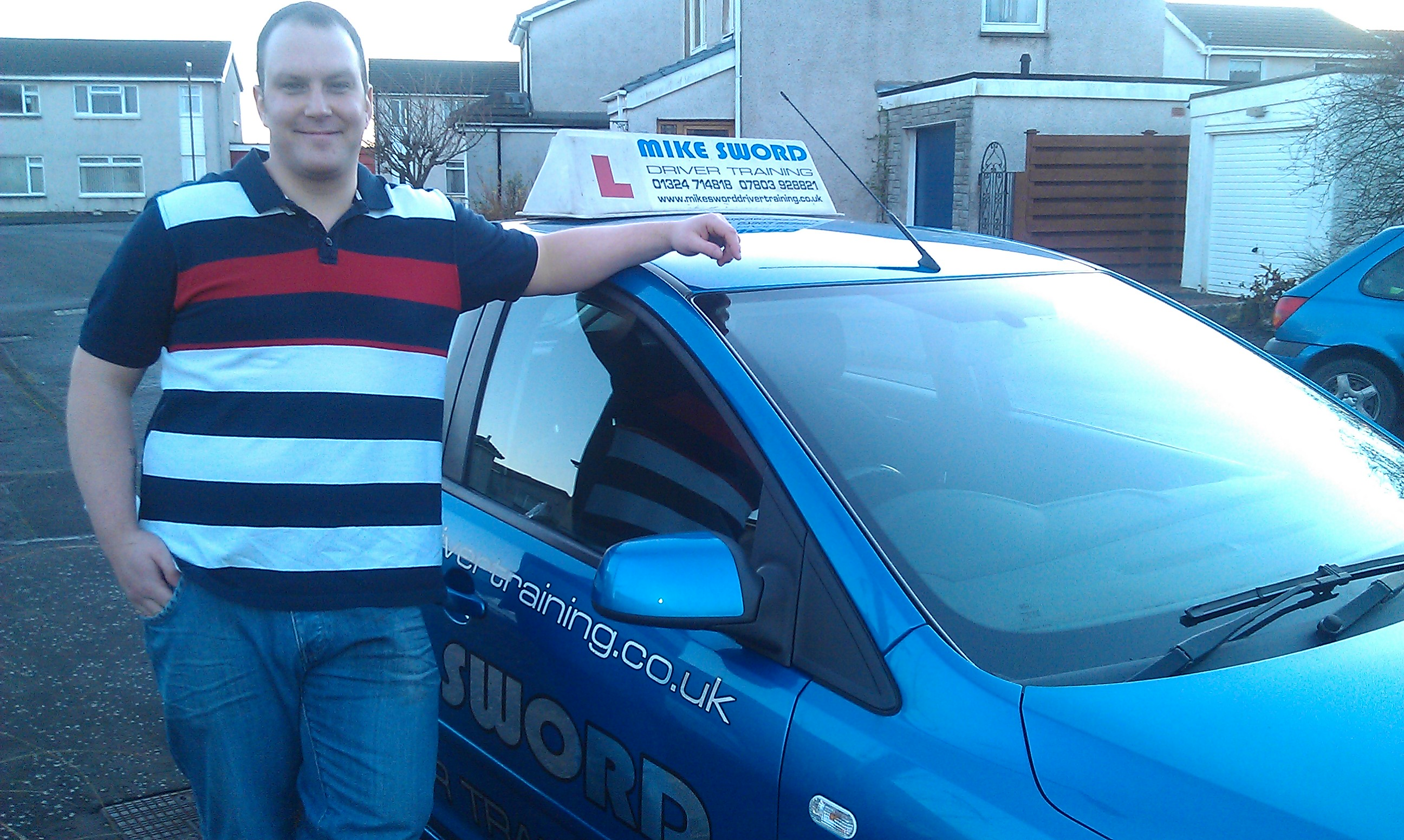 Paul Gleave Mike Sword Driver Training Falkirk