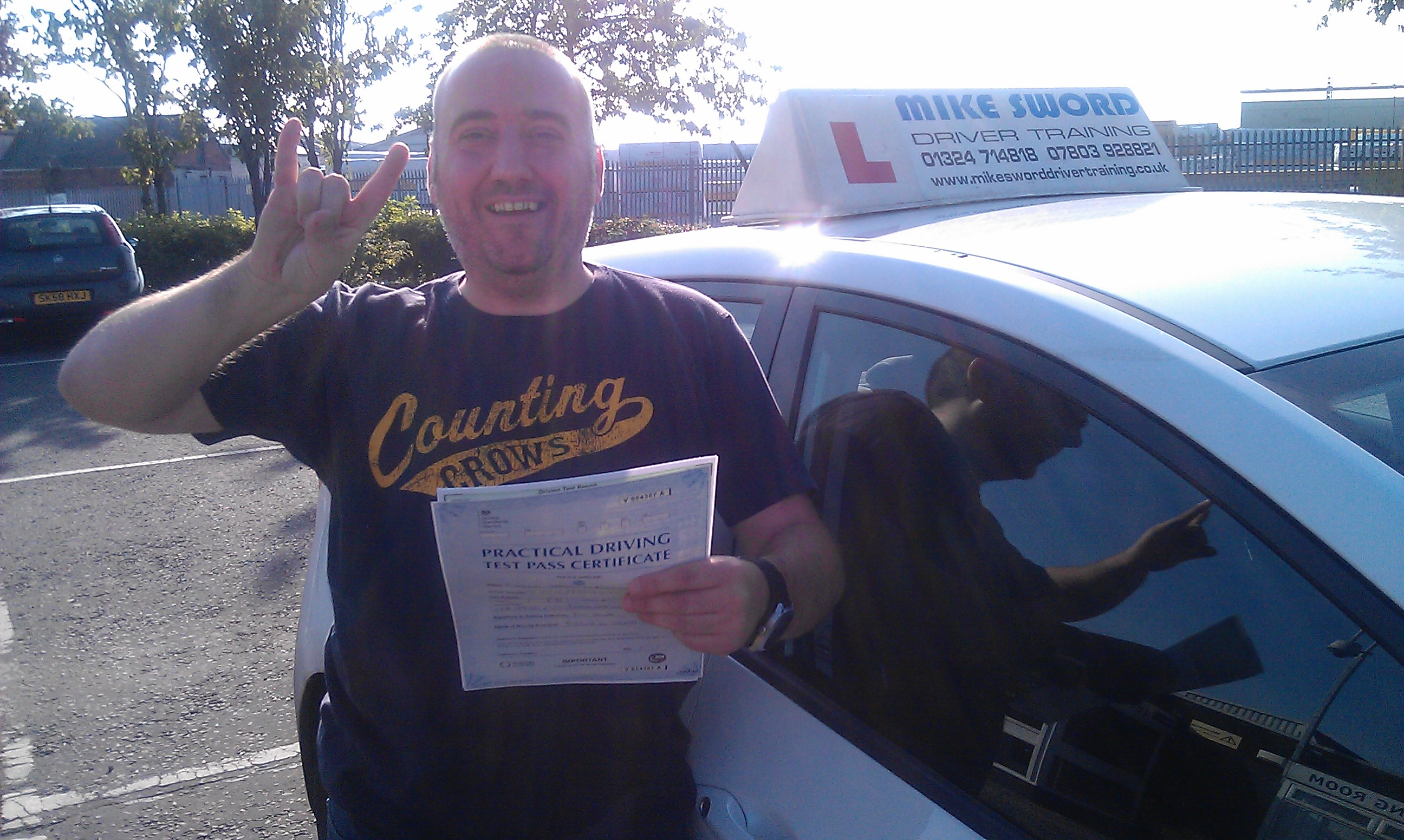 Mike Fitzpatrick Driving Instructor Lessons Falkirk