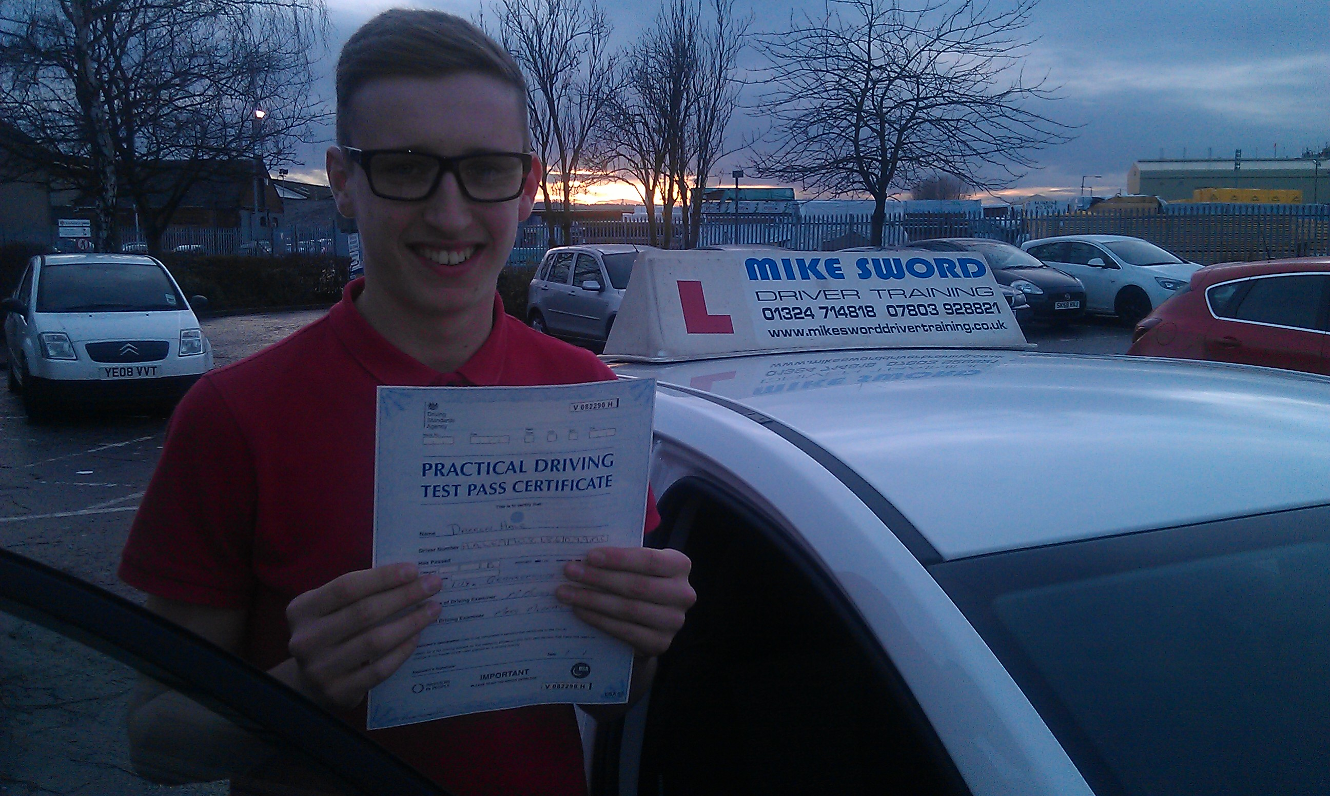Darren Hale Mike Sword Driving Instructor Falkirk