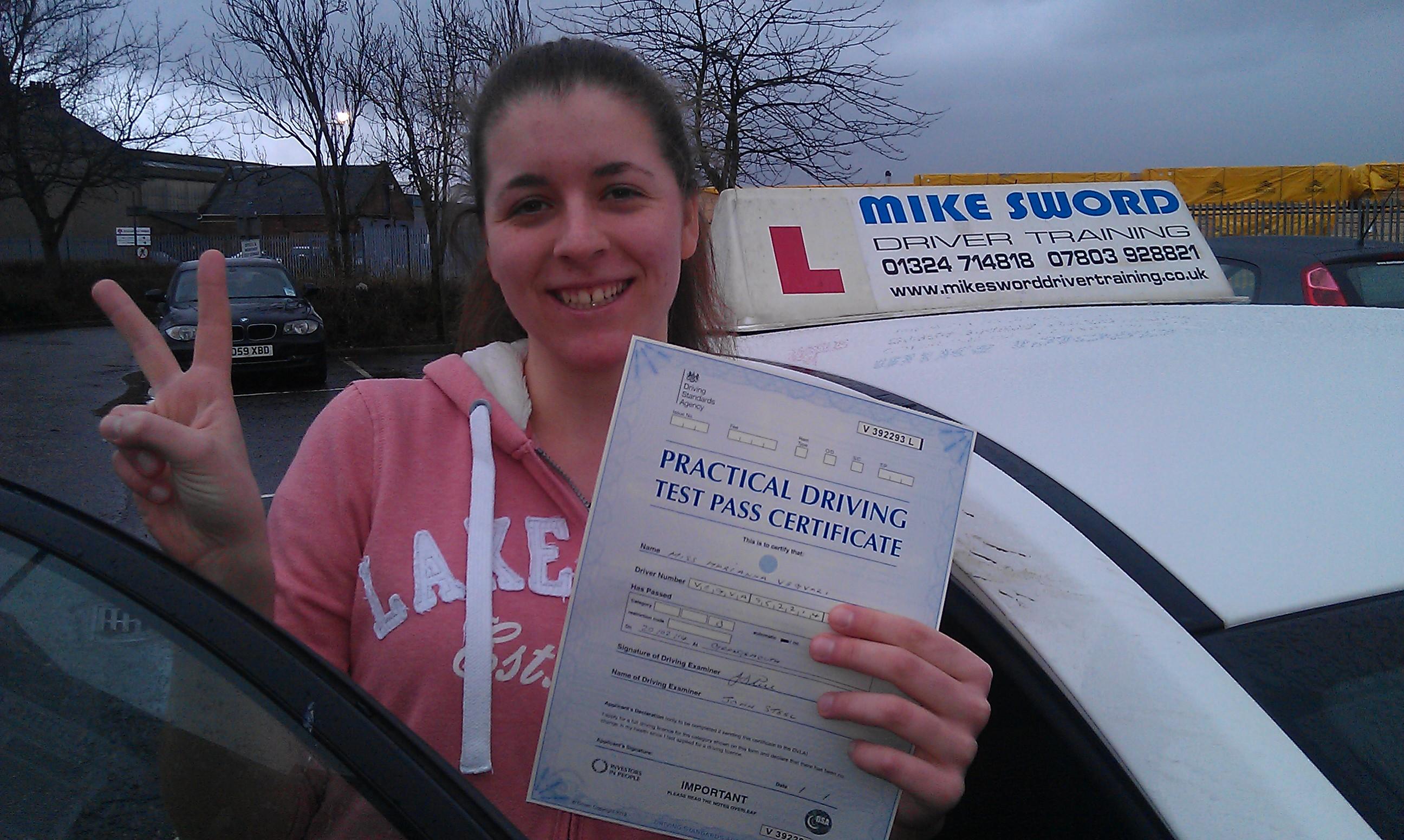 Mike Sword Driving Instructor Falkirk