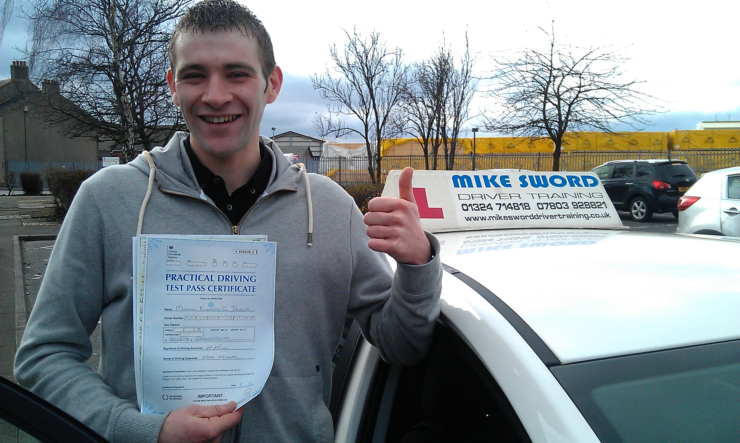 Michael Dobson Mike Sword Driver Training Falkirk Instructor
