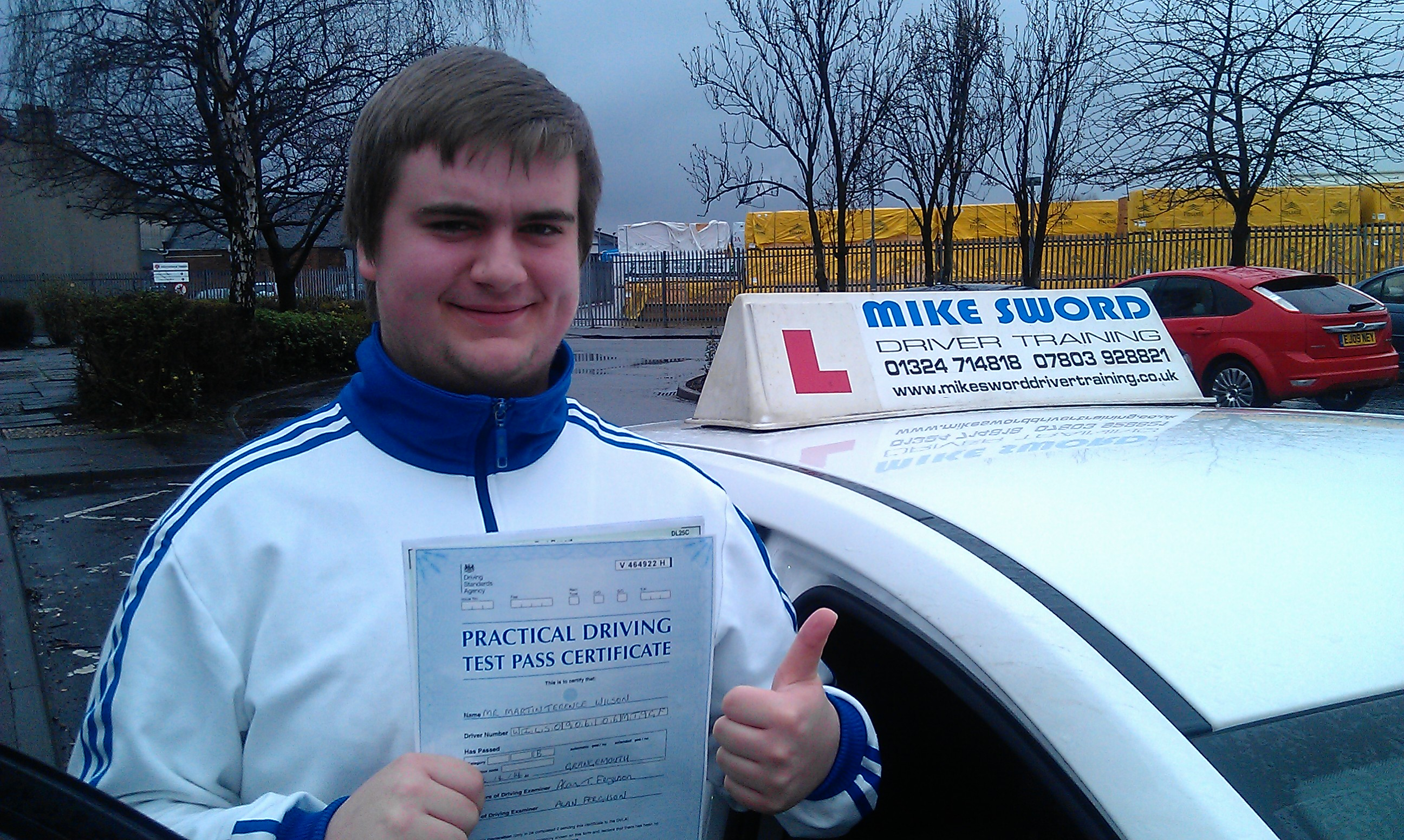Martin Wilson Mike Sword Driving Instructor Lessons Falkirk