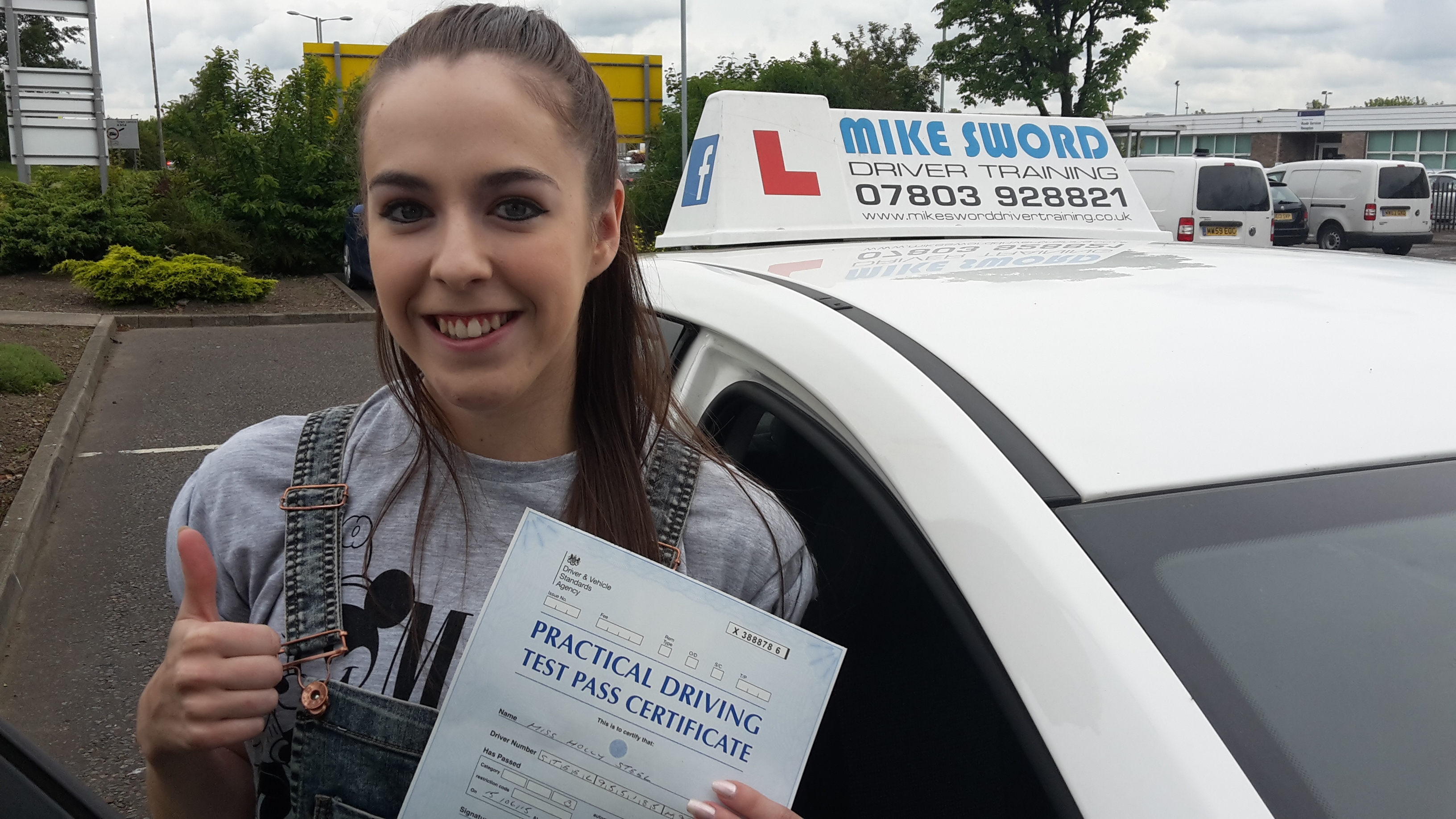 Mike Sword Driver Training Falkirk Driving Instructor Lessons Holly Steel