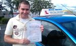 George Flanagan Mike Sword Falkirk Driving School Instructor