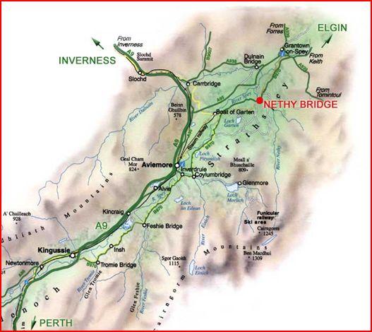 Strathspey Map