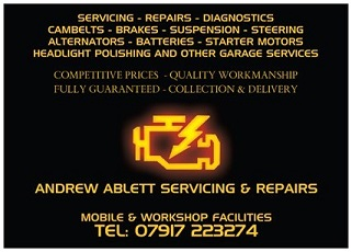 Andrew Ablett Servicing & Repairs near Ipswich