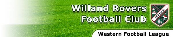 Willand Rovers Football Club ~ Toolstation Western League