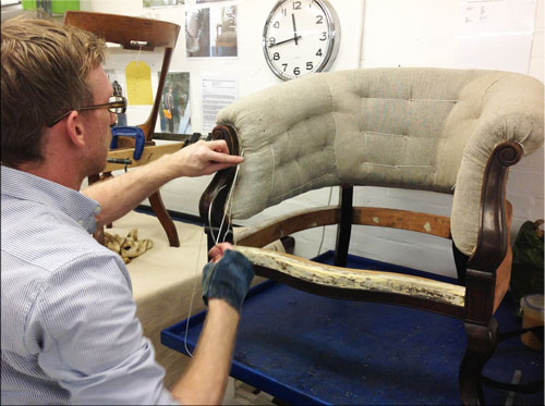 Barnett Upholsteries, 10 Week Evening Course