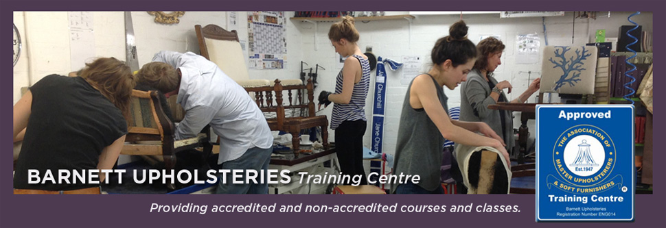 London Upholstery Classes ~ Courses and Tuition in Central London