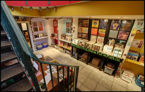 Rose Red Records Independent Music Shop