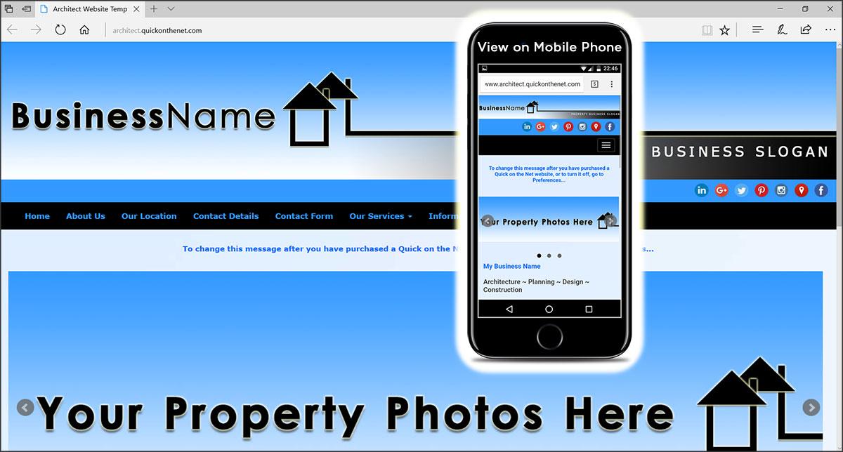 Architect Website Template