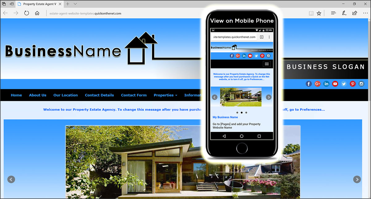 Estate Agent Website Templates