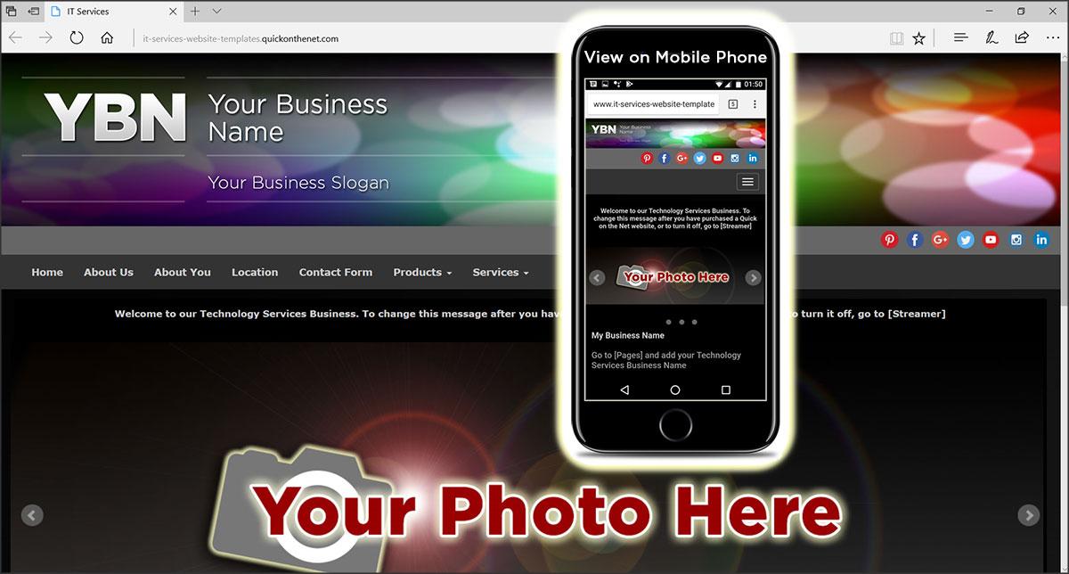 IT Services Website Templates