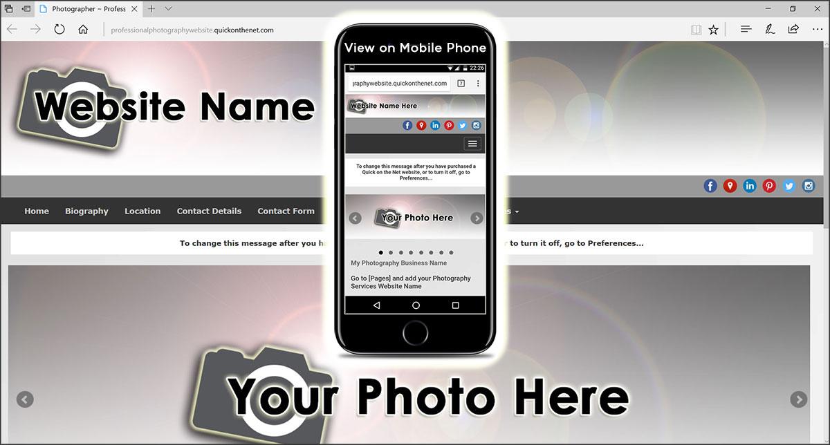 ProfessionalPhotographyWebsite