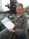 Brilliant. Second time PASS, all the best drivers take 2 goes !!