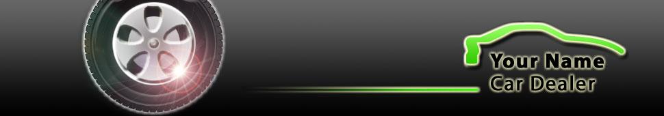 Green Car Logo Design and Website Templates