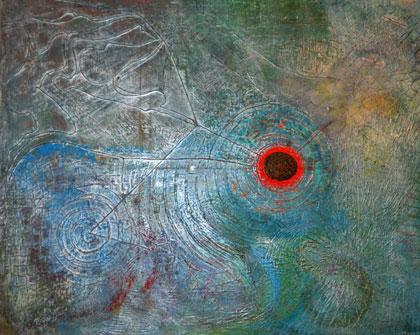 Waterverse - Acrylic paint on canvas