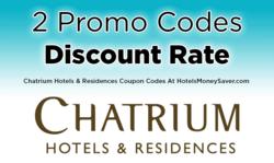 Chatrium Hotels Promo Codes