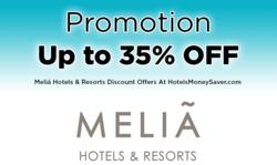 Melia Hotel Promotion