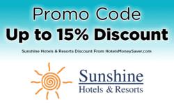 Sunshine Hotels & Resorts Promo Code