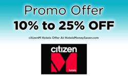 citizenM Promo Offer