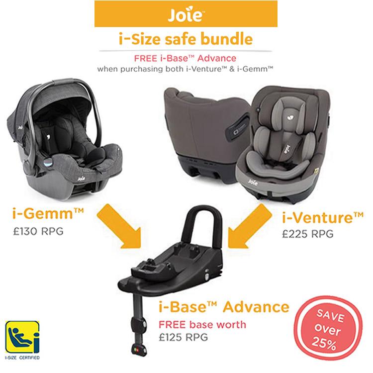 Joie i-Size Safe Bundle