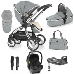 Egg Stroller Luxury Travel System Bundle with Colour Options