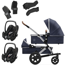 Joolz Geo 2 Twin with Travel System Options